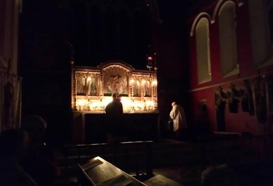 Candlelit Mass in Advent