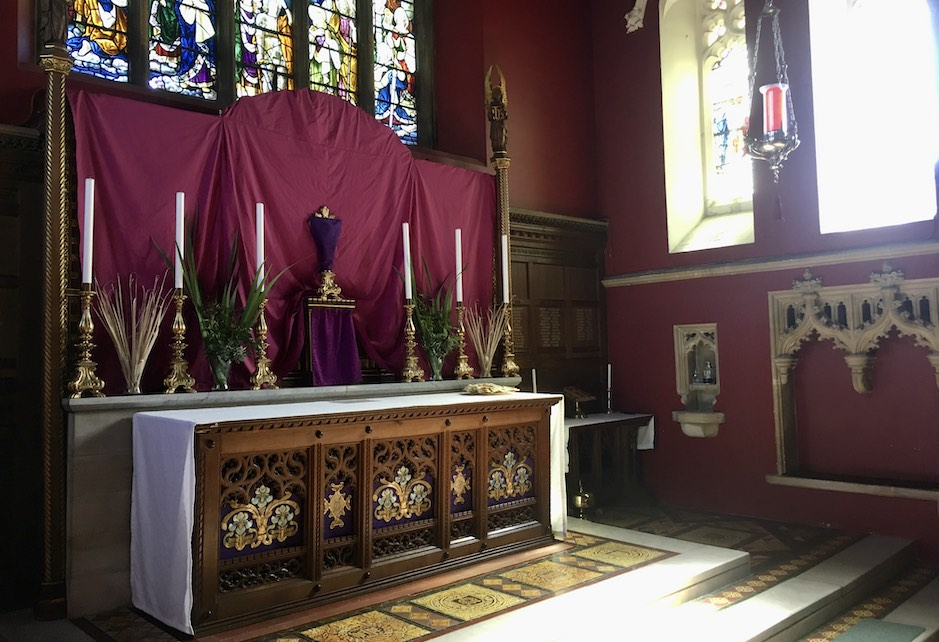 High Altar (Palm Sunday)