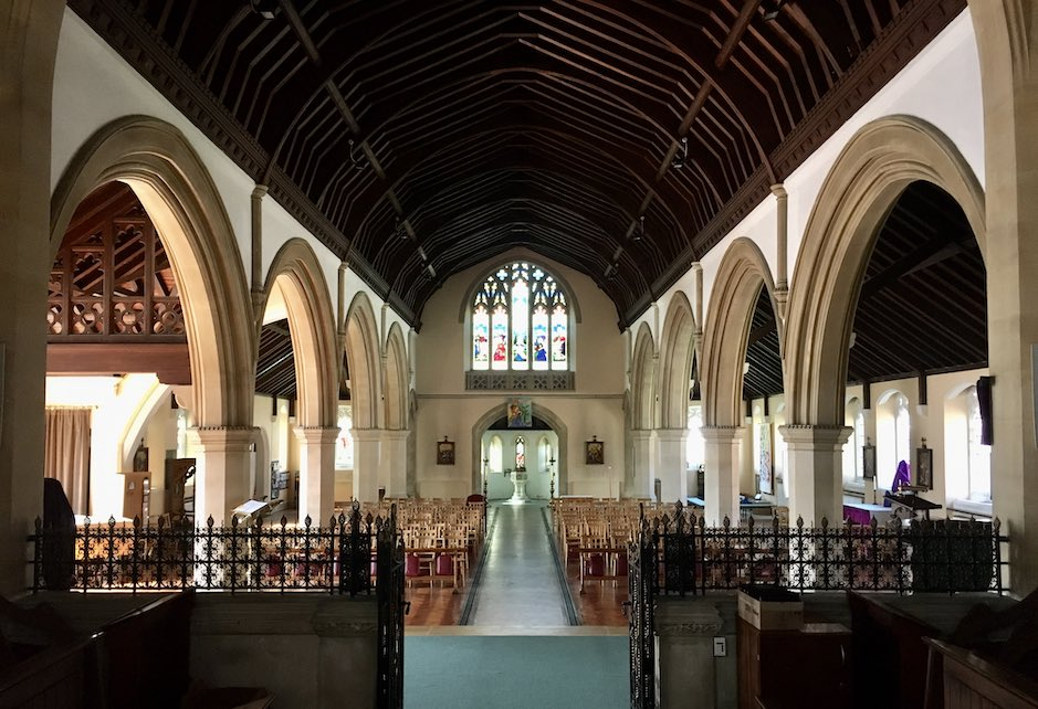 View of Nave from Chancel